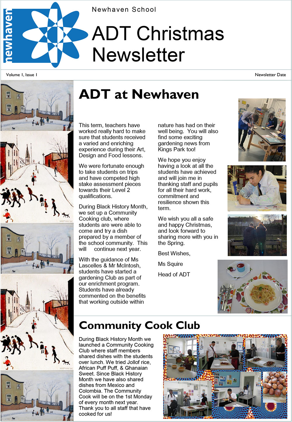 adt christmas newsletter preview